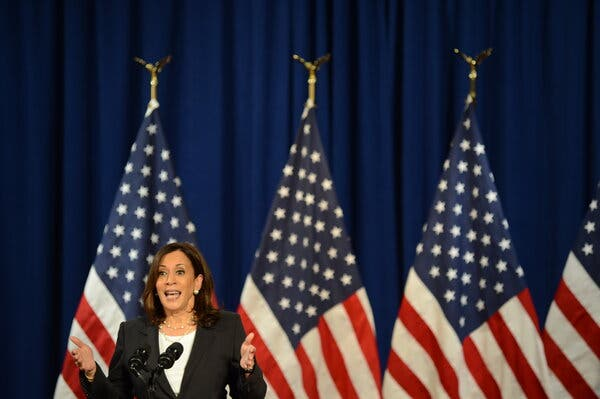 """""""Barack Obama and Joe Biden had a program, called Predict, that tracked emerging diseases in places like China,"""" Kamala Harris, the Democratic vice-presidential nominee, said on Thursday."""