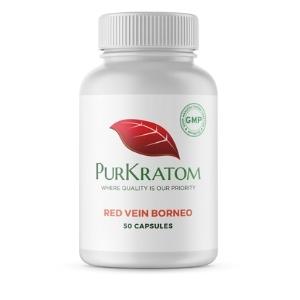 PurKratom Red Vein Borneo Kratom